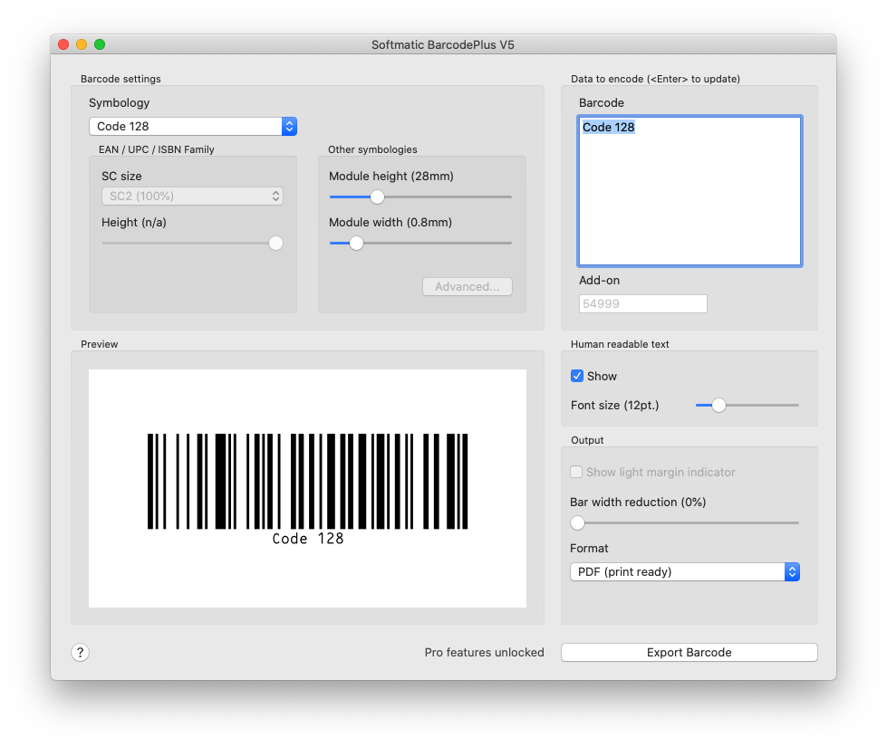 Barcode FAQ | I have printed a Code 128 barcode but my