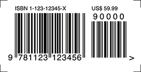 ISBN-10 with add-on