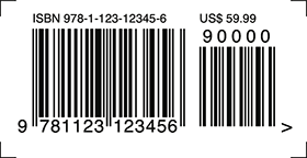ISBN-13 with add-on
