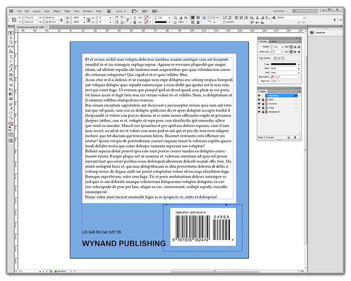 Barcode Tutorial for Adobe Indesign CS4, CS5, CS6 - ISBN / EAN Book