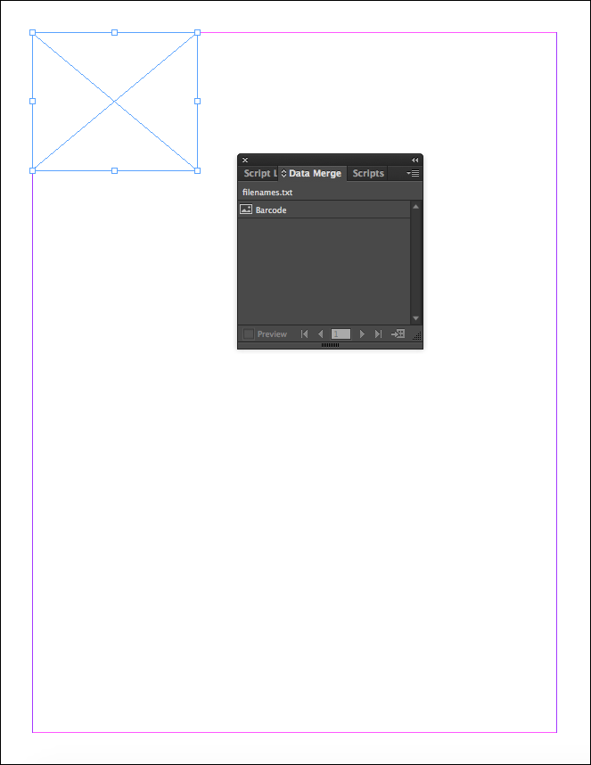 Barcode Data Merge Tutorial for Adobe Indesign